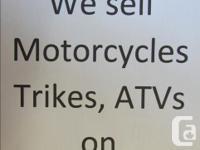 Motorcycles for Sale Harley Davidson, BMW, Kawasaki,