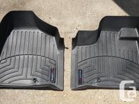 Complete set of Weather Tech floor mats