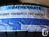 Set of 4 Weathermate Arctic Snow Tires They were never