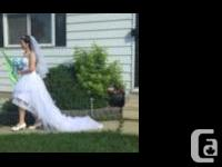 I'm selling my wedding dress. Size: Bust 35.5 - Waist