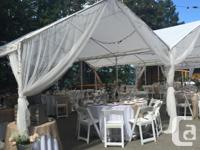 These tents are ideal for your wedding, birthday party,