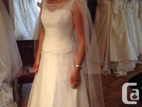 I have my wedding gown ( originally $1600+ tax, asking