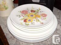 We have a some Wedgewood cake and dinner plates for