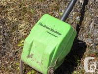 Electric Green Machine model 770. Ideal for small