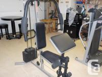 Weider 1200 home gym, complete and in great working