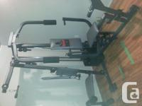 Offering weider 8630 home fitness center. Done in one.
