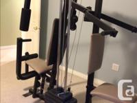Weider 9625 Pro Home Gym System to work out your entire
