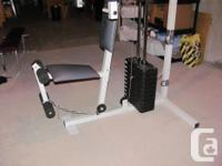 Enhance your workouts with this Wider pulley and weight