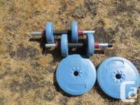 Weider Herculen Weight Set - $99obo Includes two dump