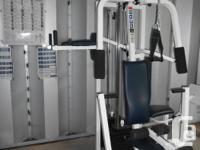 Complete Weider Pro 9635 Home Gym System. Three work