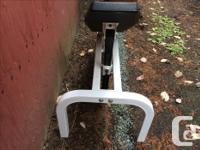 Weight bench, Padded, Reclining, various levels. In