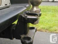 Non-Adjustable weight distribution hitch with trunnion