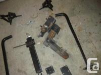 Weight equalizing hitch in very good shape. All the