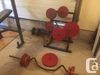 We have a whole home gym that needs to go. 2 weight