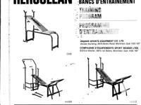 This is an original Weiider weight training bench plus