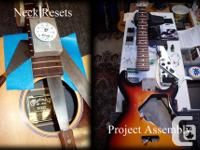 Here at P.G.R. we perform a wide variety of guitar