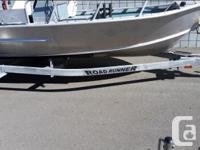 16' Welded Aluminum Boat 50 HP Suzuki 4 stroke Engine