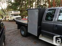 9' x 7.5' dually truck deck 3 storage boxes Welder's