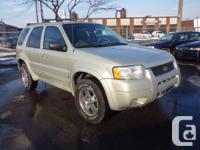 2004 FORD ESCAPE LIMITED 4X4 $3,995 +HST, 253,000 km,