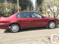 Make Chevrolet Model Malibu Year 2003 Colour red kms