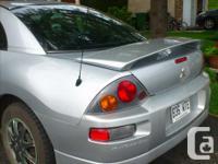 Make Mitsubishi Model Eclipse Year 2003 Colour Silver