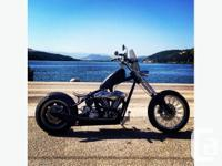 Want a real chopper. West Coast CFL 2 up, 2 out frame,