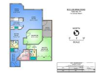 # Bath 2 Sq Ft 1030 MLS 444986 # Bed 2 Prime West