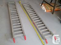 "West brand motorcycle atv ramps. Measures 72"" or 6'."