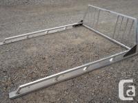 Good condition head ache racks (ladder racks) with side