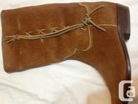 Sealskin cowboy boots available, additionally a pair