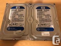 WD Blue 500GB Desktop Hard Disk Drive - 7200 RPM SATA 6