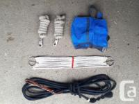"""~ Rope cinch 30"""" $10 ~ Lead ropes both for $8 ~ Western"""