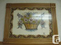 "European Tile Image. Steps 30"" vast x 24"" long."