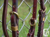 Super nice, unique bridle. This bridle is made of high