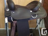 "16"" Brown Wintec western saddle for sale. Near new."