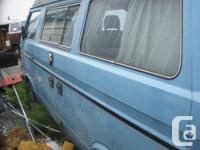 Make Volkswagen Model Vanagon Year 1984 Colour blue