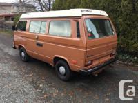 Make Volkswagen Model Vanagon Year 1982 Colour Brown