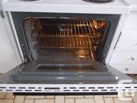 White stove , All the elements work very well, and the