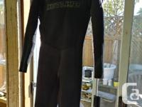2 wetsuits $250 for thé excel $200 for the hotline.