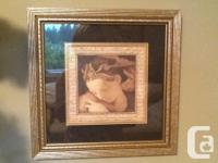 WHAT A DEAL!!! Two beautiful framed pictures $30.00