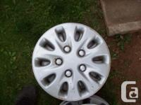 "4-Sets of 4-14"" Wheel discs for sale in good"