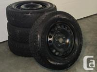 Full collection of four Goodyear Nordic 195/65R15