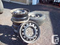 5, 16 inch wheels & & one tire from a jeep product 2