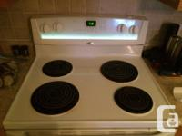 Very nice stove...30 Inch Whirlpool. 4 Element with