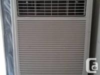 Whirlpool air conditioner. Purchased last year - used