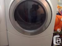 Whirlpool Duet front load washer and dryer with