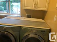 Excellent condition duet set with matching top. Dryer
