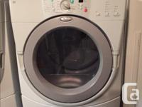 9 years old - Whirlpool Duet Washer Dryer. Both work