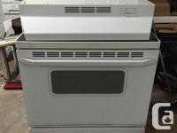 I have for sale a whirlpool glasstop stove. Timer as
