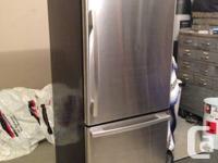 Selling my Stainless Steel Whirlpool bottom freezer